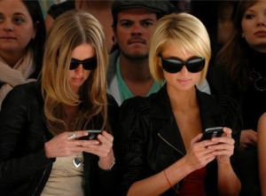 texting at funeral