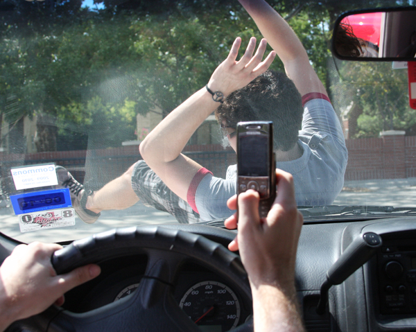 Car Crash Text Car Crash Texting Video Photos